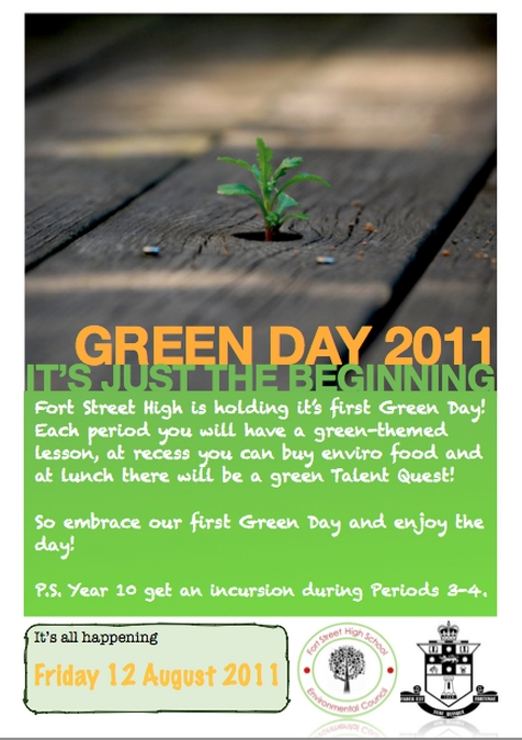 GreenDay2011 Poster